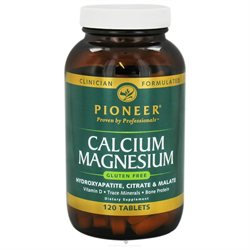 Pioneer Calcium Magnesium - 120 Tablets