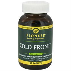 Pioneer Cold Front - 60 Tablets - Other Immune Support