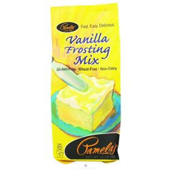 Pamela's Products Frosting Mix Vanilla - 12 oz