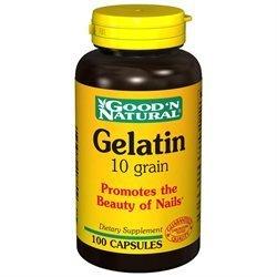 Good 'N Natural - Gelatin 10 Grain - 100 Capsules