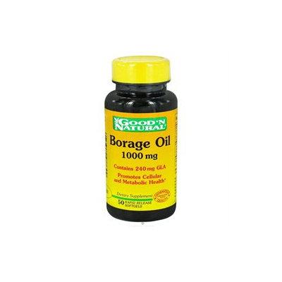 Good 'N Natural - Borage Oil Contains GLA 1000 mg. - 50 Softgels