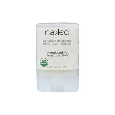 North Coast Organics - All Natural Deodorant Travel Size Naked - 0.35 oz.
