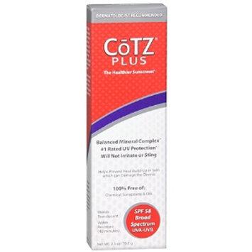 CoTZ Plus Sunscreen
