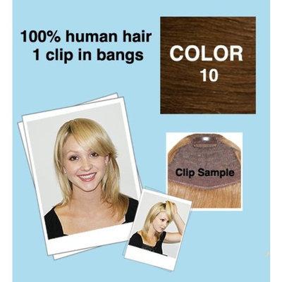 IDC America Cutira Bang - Clip in - (Color# 10 - Almond - Ash Blonde)