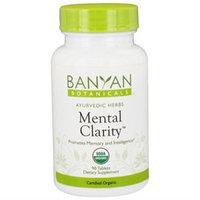 Banyan Botanicals - Organic Mental Clarity 500 mg. - 90 Tablets