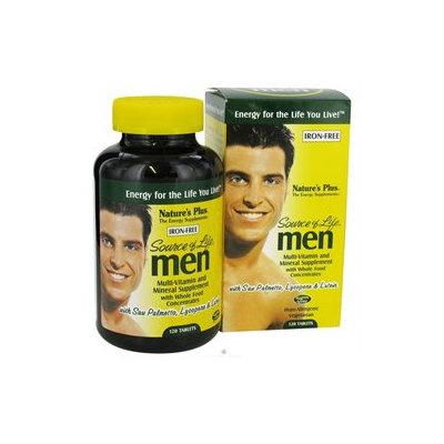 Nature's Plus Source Of Life Men - 120 Tablets - Men's Multivitamins