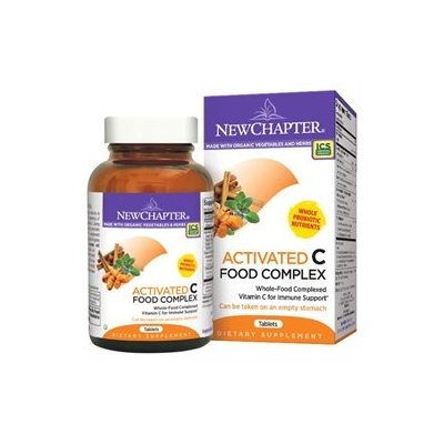 New Chapter - Activated C Food Complex - 90 Tablets