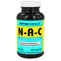 Jarrow Formulas N-A-C, N-Acetyl-L-Cysteine 500mg