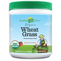 Amazing Grass Organic Wheat Grass Powder, 8.5 oz