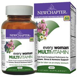 New Chapter Organics Every Woman Multi Vitamin 120 tablets