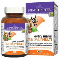 New Chapter - Every Man's One Daily - 72 Tablets
