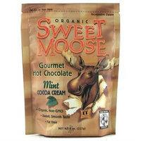 FunFresh Foods - Sweet Moose Gourmet Hot Chocolate Organic Cocoa Chocolate Mint - 8 oz.