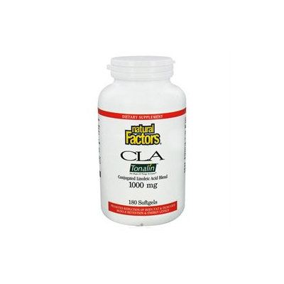 Tonalin CLA 1000 mg, 180 Softgels, Natural Factors