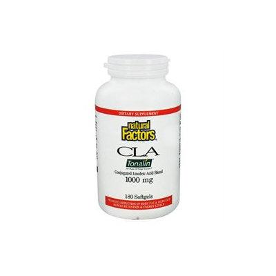 Tonalin CLA 1000 mg, 180 Softgels, Natural Factors