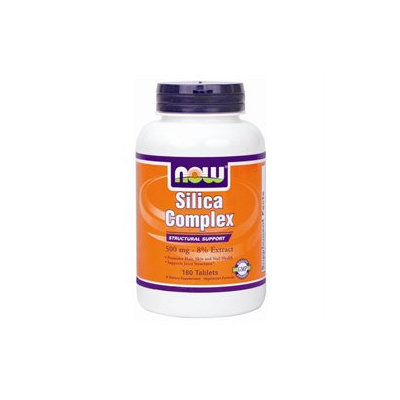 NOW Foods - Silica Complex Vegetarian 500 mg. - 180 Tablets