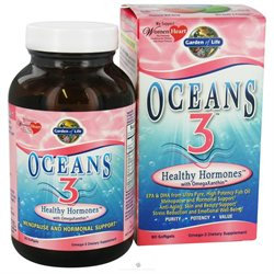 Garden of Life Oceans 3 - Healthy Hormones, 90 softgels