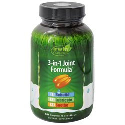 Irwin Naturals 3-in-1 Joint Formula Softgels