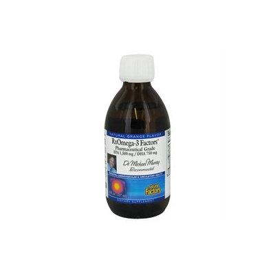 Natural Factors RxOmega-3 Factors Orange - 8 fl oz