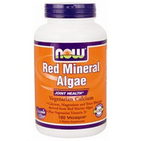 NOW Foods Red Mineral Algae VCaps