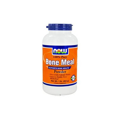 NOW Foods - Bone Meal Powder - 1 lbs.