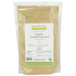 Banyan Botanicals - Organic Amalaki Fruit Powder Emblica Officinalis - 1 lb.