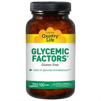 Glycemic Factors 100 Tab By Country Life Vitamins (1 Each)