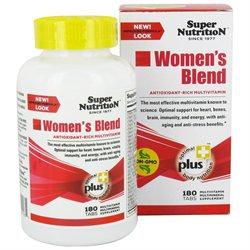 Super Nutrition - Women's Blend - 180 Vegetarian Tablets