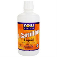 NOW Foods - L-Carnitine Liquid Citrus Flavor 1000 mg. - 32 oz.