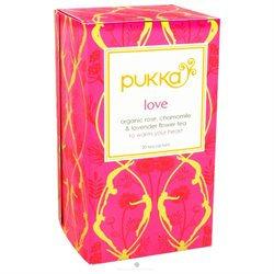 Pukka Herbs - Herbal Tea Organic Love - 20 Tea Bags