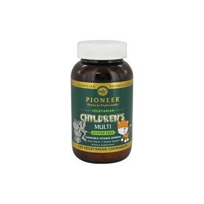 Pioneer Nutritionals Pioneer - Children's Multi Vegetarian Fruit Flavor - 120 Chewables