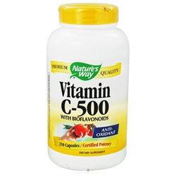 tures Way Nature's Way Vitamin C-500 with Bioflavonoids