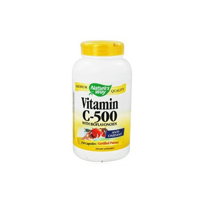 tures Way Nature's Way Vitamin C-500 with Bioflavonoids