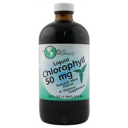 World Organics 58721 Chlorophyll 50 Mg Mint