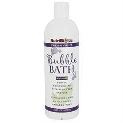 NutriBiotic Bubble Bath Fresh Fruit - 16 fl oz