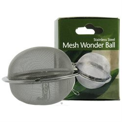Harold Import Company Harold Import - Stainless Steel Mesh Wonder Tea Ball 2 1/2 inch