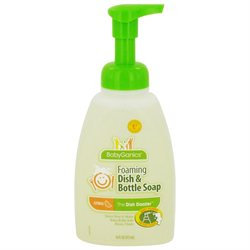 BabyGanics Dish Dazzler Foaming Dish & Bottle Soap - Citrus