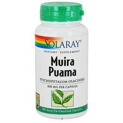 Solaray Muira Puama - 300 mg - 100 Capsules