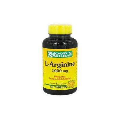 Good 'N Natural - L-Arginine 1000 mg. - 50 Tablets
