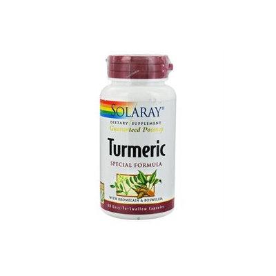 Solaray - Turmeric Special Formula With Bromelain & Boswellia - 60 Capsules