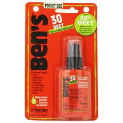 Bens 30 DEET Tick Insect Repellent - 1.25 oz. Pump Bottle
