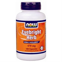 NOW Foods - Eyebright Herb 470 mg. - 100 Capsules