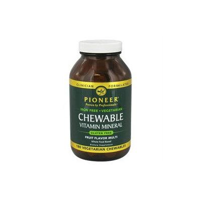 Pioneer Nutritionals Pioneer - Chewable Vitamin Mineral Iron-Free Fruit Flavor - 180 Chewables