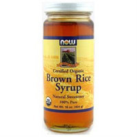 NOW Foods - Brown Rice Syrup Organic - 16 oz.