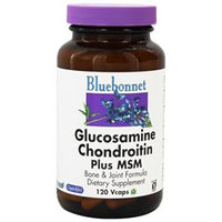 Bluebonnet Nutrition - Glucosamine Chondroitin Plus MSM - 120 Vegetarian Capsules