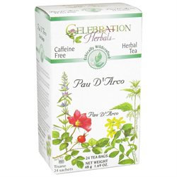 Celebration Herbals Pau D'Arco Tea Caffeine Free - 24 Herbal Tea Bags