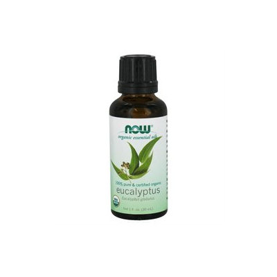 NOW Foods - Eucalyptus Oil Organic - 1 oz.