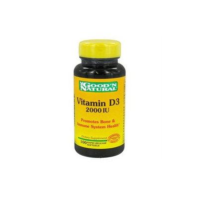 Good 'N Natural - Vitamin D3 Once Daily Formula 2000 IU - 100 Softgels