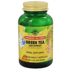 Solgar - Green Tea Leaf Extract - 60 Vegetarian Capsules