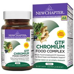 New Chapter - Organics GTF Chromium Complex - 60 Tablets