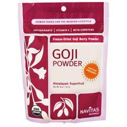 Navitas Naturals - Freeze-Dried Goji Berry Powder Certified Organic - 8 oz.